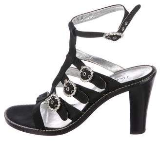 Donald J Pliner Multistrap Buckle Sandals