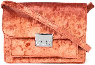 Loeffler Randall velvet crossbody bag