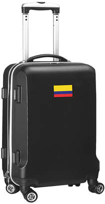 """ABS by Allen Schwartz Mojo Licensing 21"""" Carry-On 100% Hardcase Spinner Luggage - Colombia Flag"""