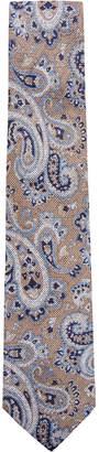 Tasso Elba Men's Paisley Linen Tie, Created for Macy's
