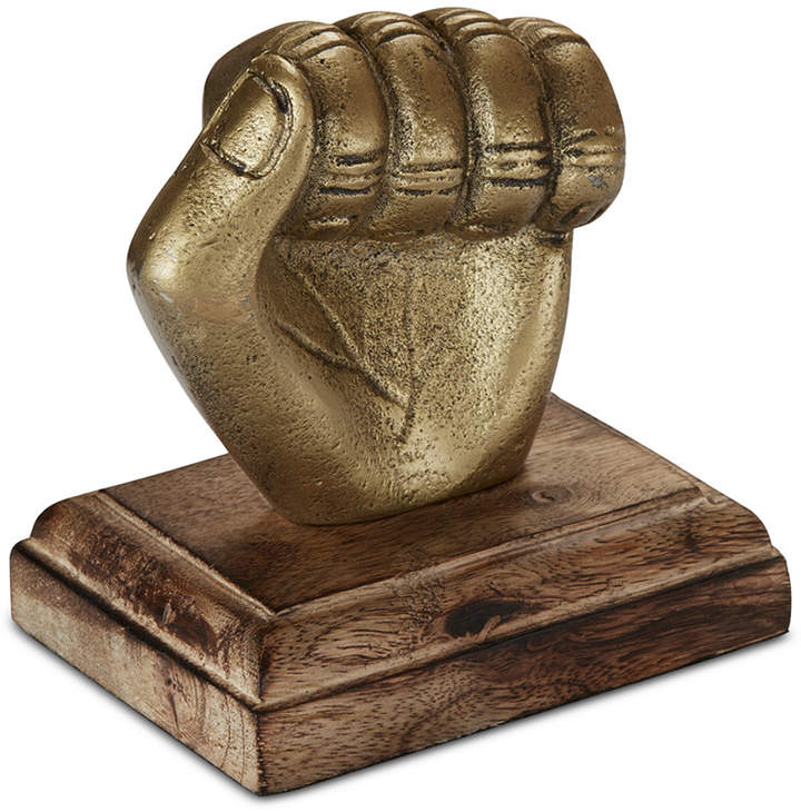 Madison Park Conway Hand Fist Tabletop Decorative Sculpture