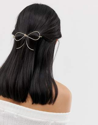 Asos Design Bow Hair Stick