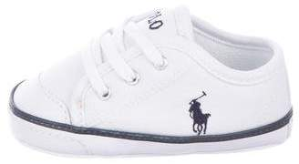 Polo Ralph Lauren Lace-Up Low-Top Sneakers w/ Tags