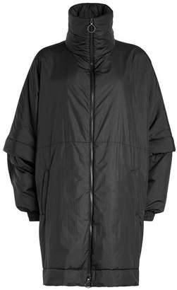 Maison Margiela Oversized Padded Jacket with Funnel Neckline