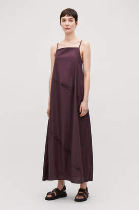Cos VOLUMINOUS DRESS WITH TIE BACK