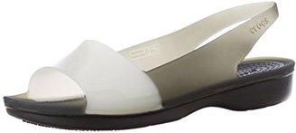 Crocs ColorBlock Slingback Flat $20 thestylecure.com