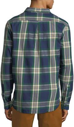 Jachs Ny Plaid Work Shirt, Green