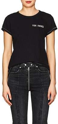 """Rag & Bone Women's """"Yin Yang"""" Cotton T-Shirt"""