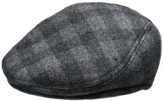 London Fog Plaid Moulded Ivy Cap