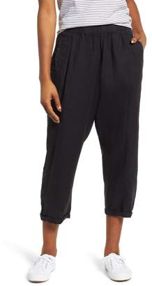 Caslon Linen Crop Pants