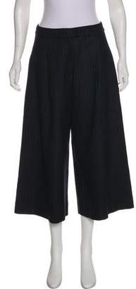 Nicholas High-Rise Pinstripe Pants