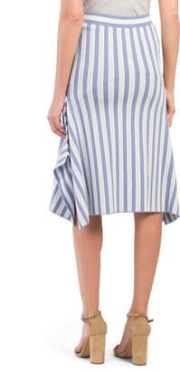 BCBGMAXAZRIA Handkerchief Hem Skirt