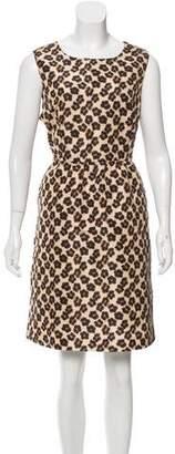RED Valentino Leopard Print A-Line Dress w/ Tags