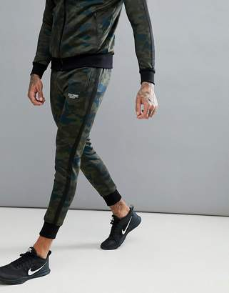 Muscle Monkey Skinny Joggers In Camo