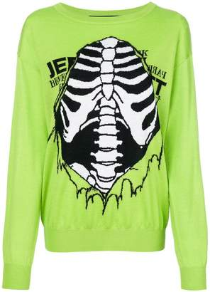 Jeremy Scott skeleton jumper