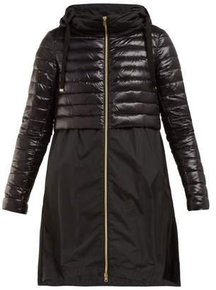 Herno Padded Nylon Coat - Womens - Black
