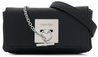 Calvin Klein bar chain belt bag