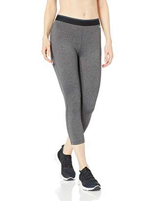 Amazon Essentials Women's Elastic Waist Performance Capri Legging