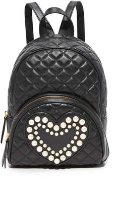 Boutique Moschino Quilted Backpack $875 thestylecure.com