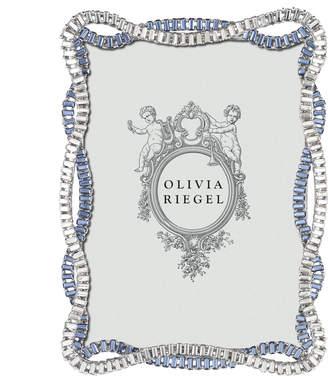 Olivia Riegel Pewter & Crystal Cydney Photo Frame