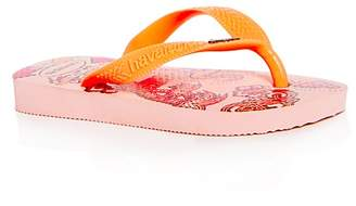 Havaianas Girls' Fantasy Flip-Flops - Walker, Toddler, Little Kid