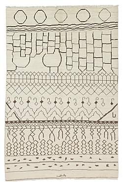 Moroccan Area Rug, 9'6 x 6'4