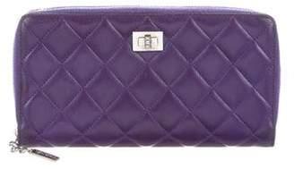 Chanel Reissue Zip-Around Wallet