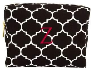 Cathy's Concepts Monogram Cosmetics Bag