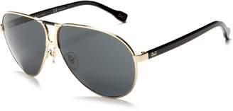 Dolce & Gabbana Men's DD6067 Aviator Sunglasses