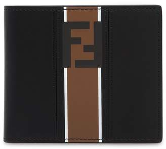 Fendi Ff Signature Smooth Leather Wallet