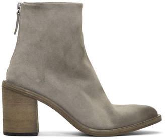 Marsèll Grey Tapiro Ankle Boots
