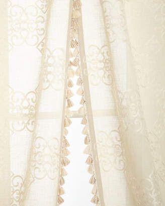 """Sweet Dreams Two 53""""W x 108""""L Stockholm Curtains"""