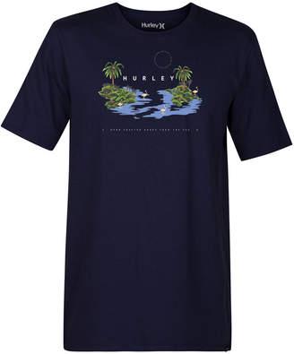 Hurley Men's Island Hop Graphic T-Shirt