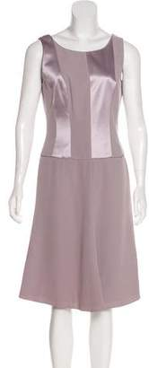 Giorgio Armani Sleeveless Midi Dress