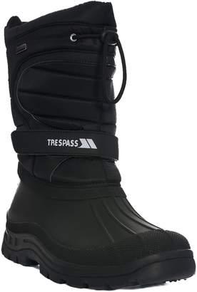 Trespass Mens Dodo Pull On Winter Snow Boots