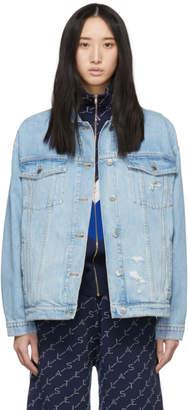 Stella McCartney Blue Denim Organic Jacket
