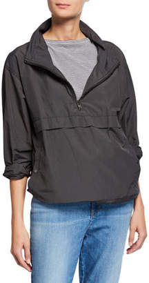 Eileen Fisher Organic Cotton/Nylon Pullover Jacket, Plus Size