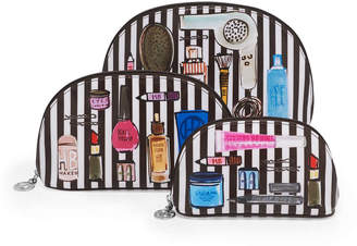 Henri Bendel Beauty Essentials Cosmetic Wedge Set Of 3