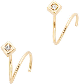 Jules Smith Crystal Wrap Around Earrings $40 thestylecure.com