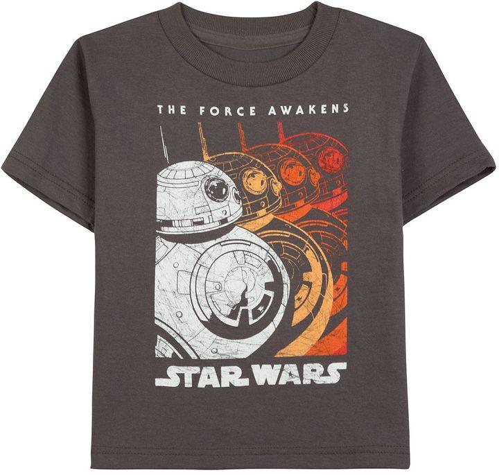 Star Wars: Episode VII The Force Awakens Toddler Boy BB-8 Gradient Tee