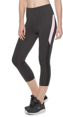 4813143f0e00 Fila Sport Women s SPORT Stretch Trim High-Waisted Capri Leggings