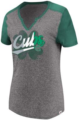 Majestic Women's Chicago Cubs Celtic Tee