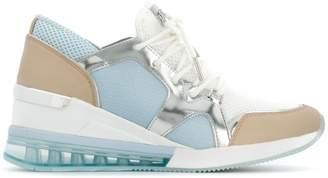 MICHAEL Michael Kors panelled wedge sneakers