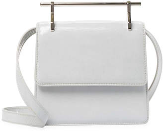 M2Malletier Collectionne Mini Patent Shoulder Bag