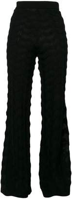 M Missoni flared trousers