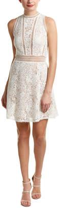 Rebecca Taylor Arella Lace A-Line Dress