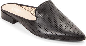 Franco Sarto Black Samanta Pointed Toe Mules