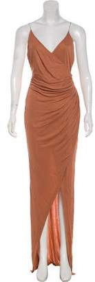 Balmain Draped Evening Dress w/ Tags