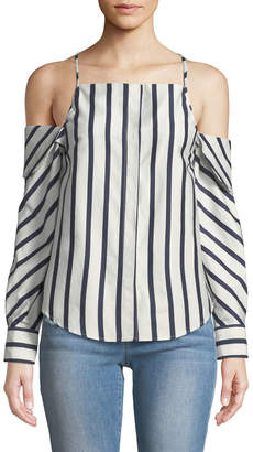 STYLEKEEPERS Can't Be Tamed Button-Front Top