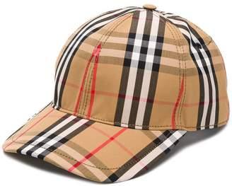 91c4f36eafc Burberry Vintage Check Baseball Cap